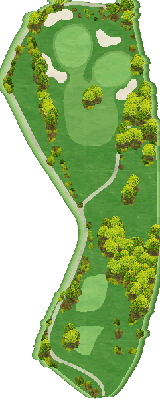 東コースIN Hole11