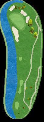 中コース Hole08