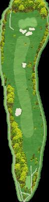 中コース Hole01