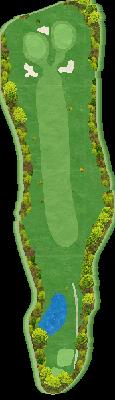 西コースIN Hole11