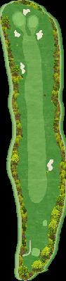 西コースIN Hole16