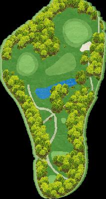 東コースIN Hole13