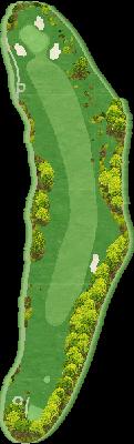 東コースIN Hole18