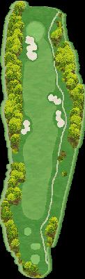 西コースIN Hole12