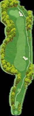 南コースIN Hole17
