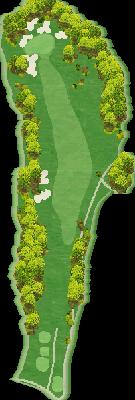 東コースOUT Hole02