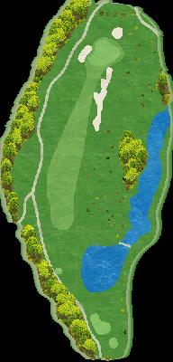 西コース Hole08