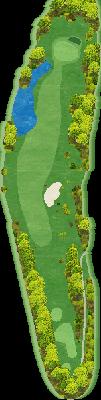 南コースIN Hole15