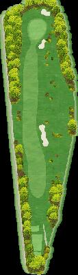 西コースOUT Hole01
