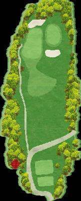 西コースIN Hole13