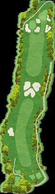 西コースIN Hole14