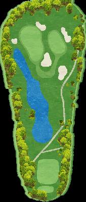 キングコースIN Hole16