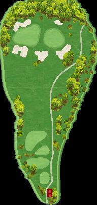 クイーンコースIN Hole15