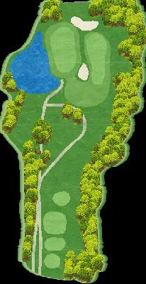中コース Hole02