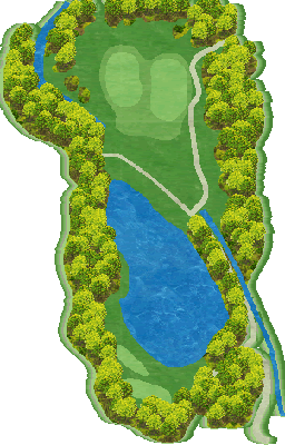 NORTH(椎の木)コース Hole02