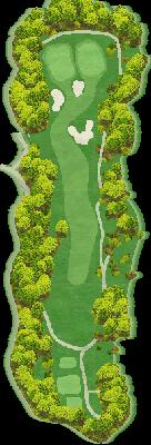 NORTH(椎の木)コース Hole04
