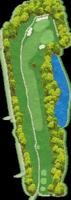 NORTH(椎の木)コース Hole06