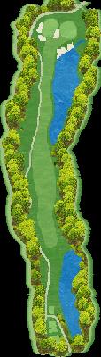 NORTH(椎の木)コース Hole07