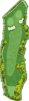 ウエストコース Hole11