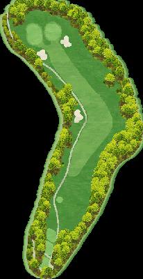 西コース Hole09
