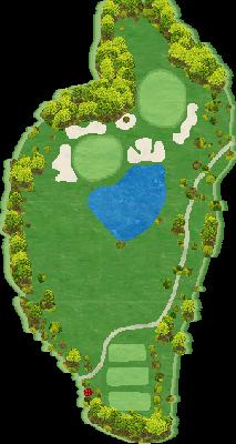 東INコース Hole12