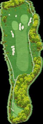 西INコース Hole11