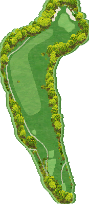 千早コース Hole02