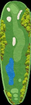 南コース Hole11