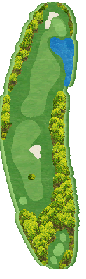 南コース Hole16