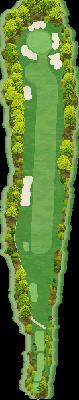 山の原コースIN Hole14
