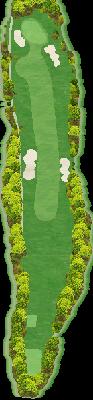 山の原コースIN Hole18