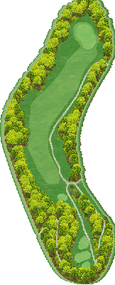 西コース Hole06