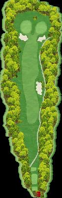 ブルーコース Hole01