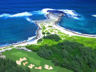 タートルベイ・リゾート・ゴルフクラブ アーノルドパーマーコース(ハワイ オアフ)