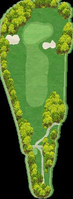 大磯ゴルフコース Hole07