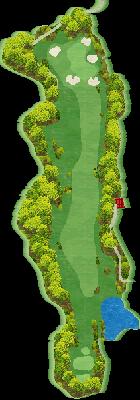 INコース Hole15