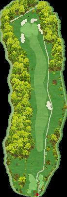 桜コース Hole01