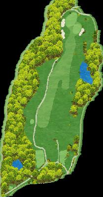 桜コース Hole02