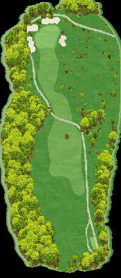 楓コース Hole08