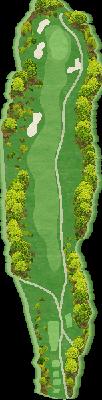 西コース Hole01