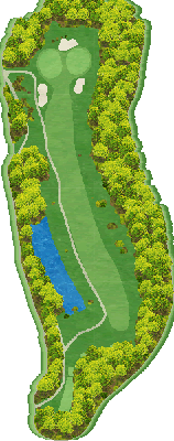 西コース Hole02
