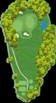 南コースIN Hole16