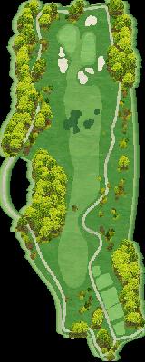 東コース Hole01