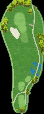 グリーンコース Hole03