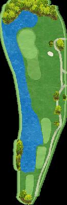 グリーンコース Hole05