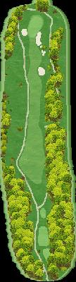 ウエストコースIN Hole16