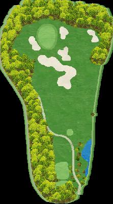 北コース Hole02