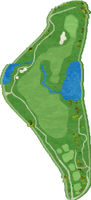西コースIN Hole15