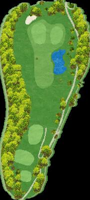葛城コース Hole02